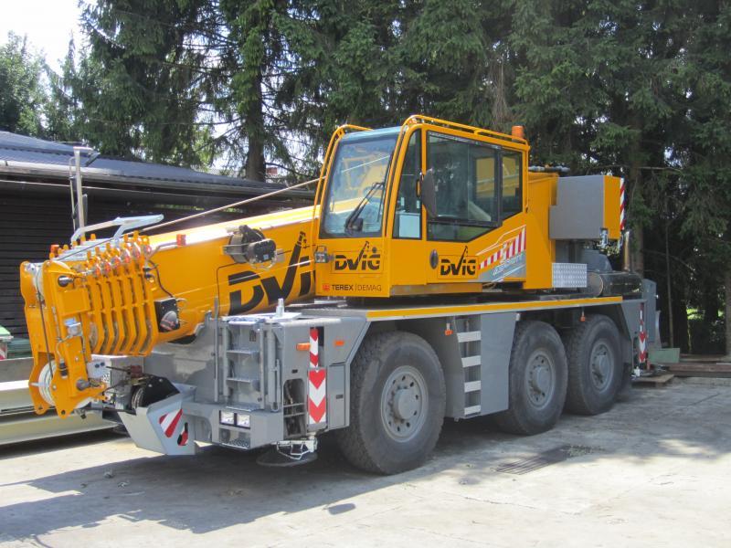 Mobile Crane Demag Ac 55 City